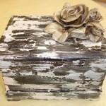 Caixa de MDF artesanato em madeira