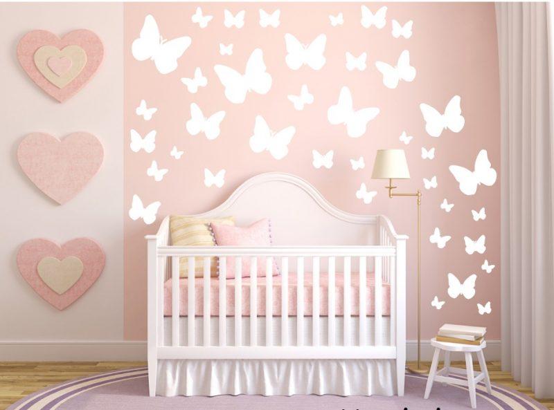 Adesivo infantil borboletas