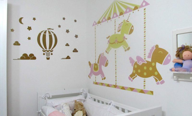 Artesanato Frases ~ ADESIVOS COM MOTIVOS INFANT u00cdS Decorando quantos infantis