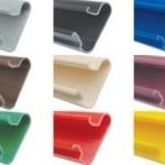 canaletas coloridas
