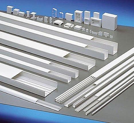 Canaleta pvc ou metal di pvc tubos e forros - Canaleta de pvc ...