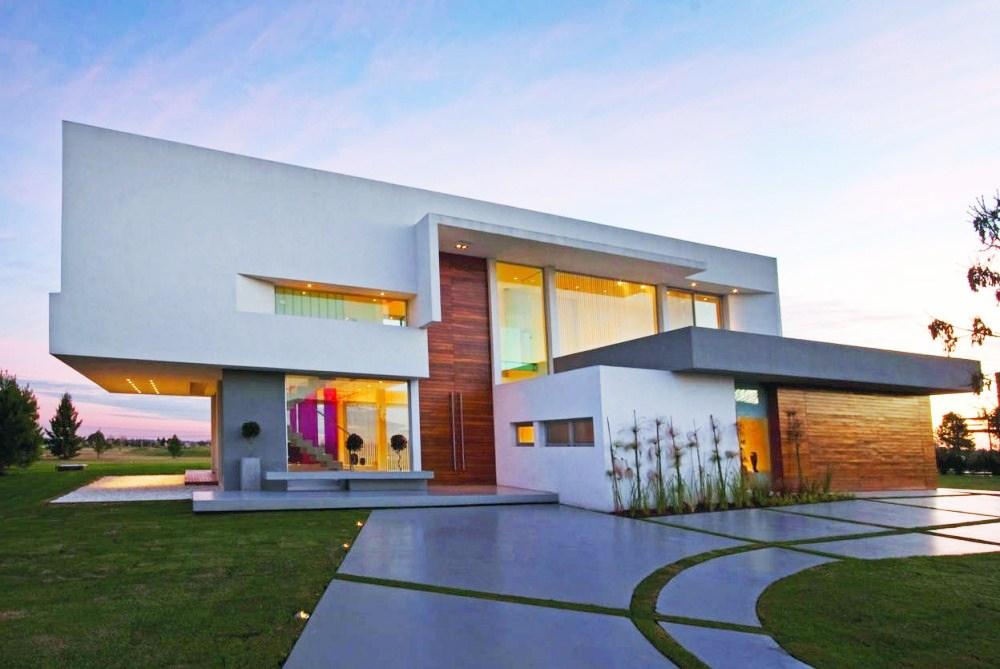 Fachada de casas moderna 2