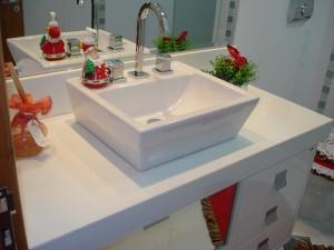 pia de banheiro com marmoglass
