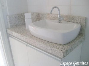 Pia para banheiro de mármore