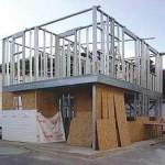 Casa com sistema construtivo de aço
