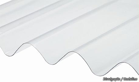 Tipos de telha transparente