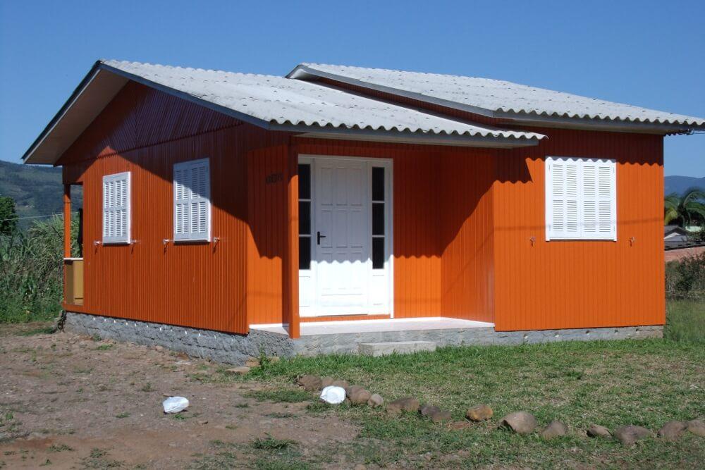 Telhado para casa simples