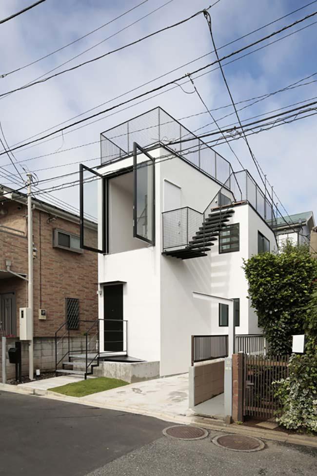 Projeto residencial econômico de concreto