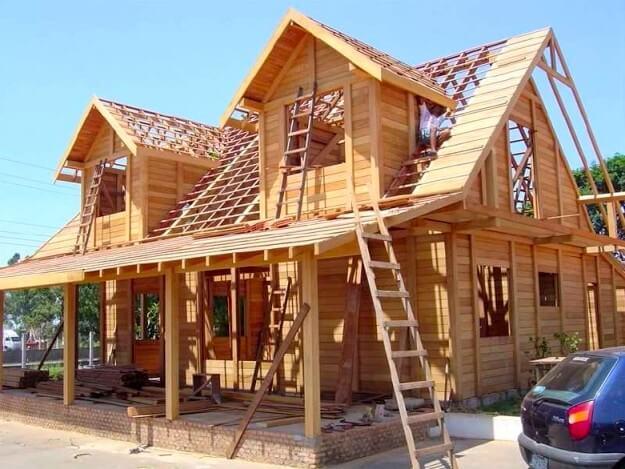 Madeira tipos adequados para constru o - Tipos de tejados para casas ...
