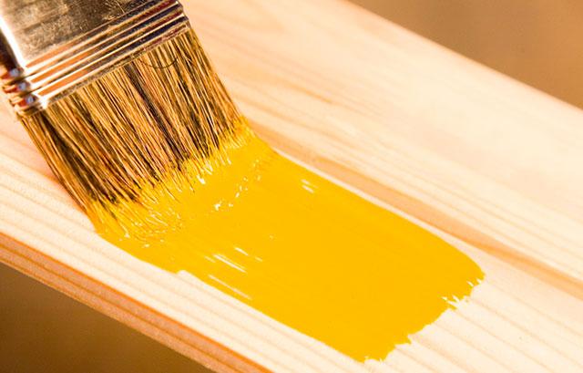 pintura da madeira