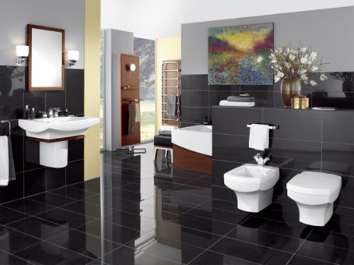 Pisos para banheiro cer micas e revestimentos confira for Ver pisos decorados