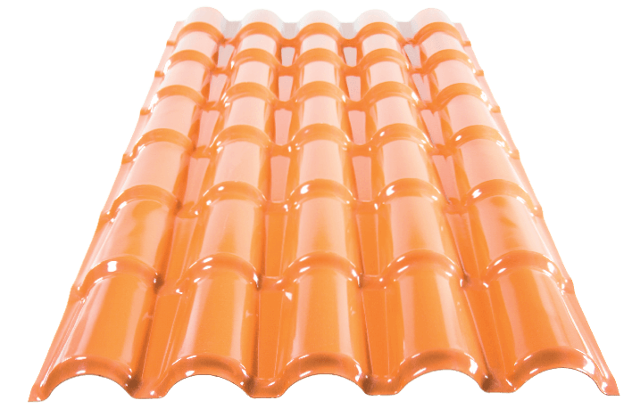 Telha de PVC Colonial