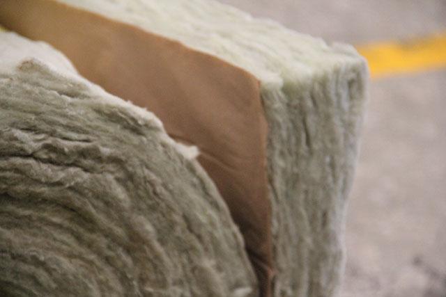 textura lã de rocha