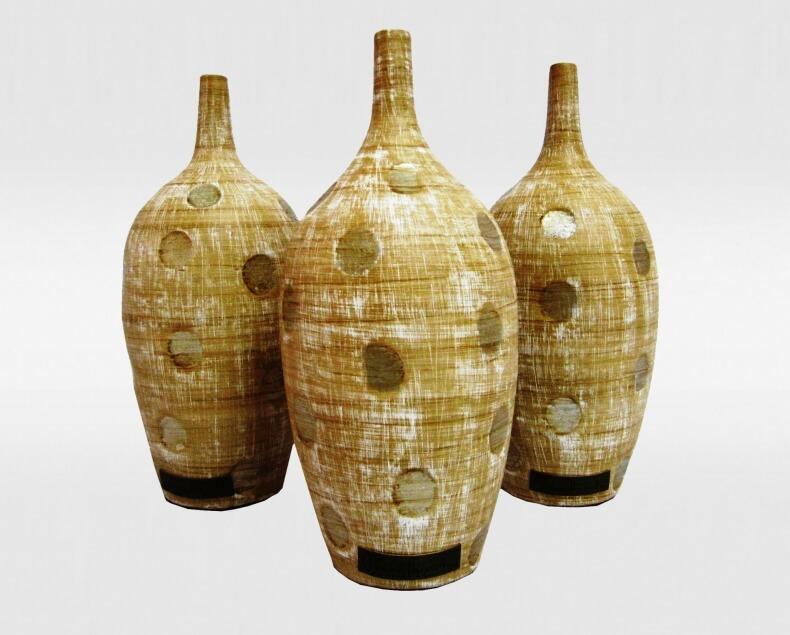 Vasos decorativos cerâmicos