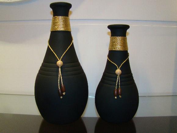 Vasos com design sofisticado