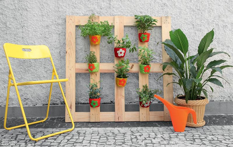 6- Móveis de Paletes: jardineira