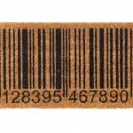 capacho código de barras