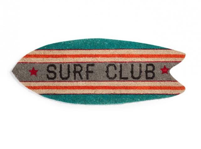 capacho para surfistas divertidos