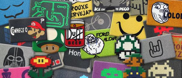 capachos divertidos: diversas ideias disponíveis no mercado brasileiro para decorar a porta de nossas casas
