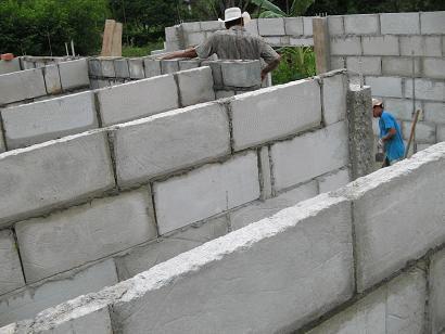 alvenaria de concreto celular