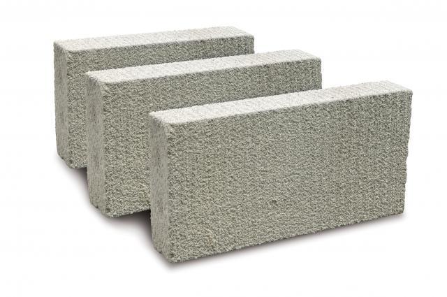 Blocos de vedação de concreto celular
