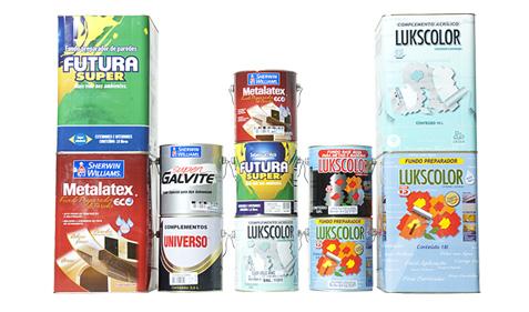 Diversos marcas de fundo seladore para pintura disponíveis no mercado