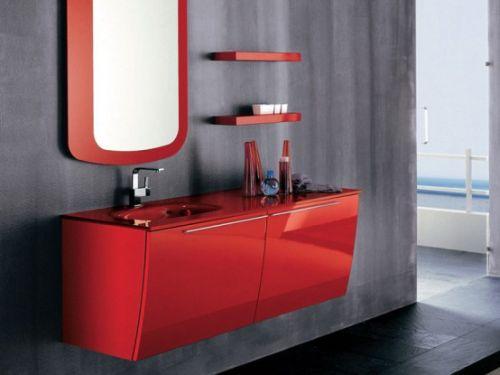 gabinete vermelho