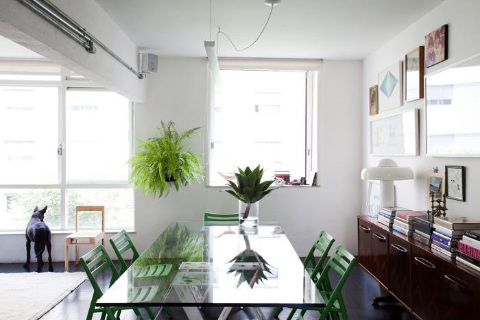 Iluminação natural: Cores claras ajudam na iluminação do ambiente
