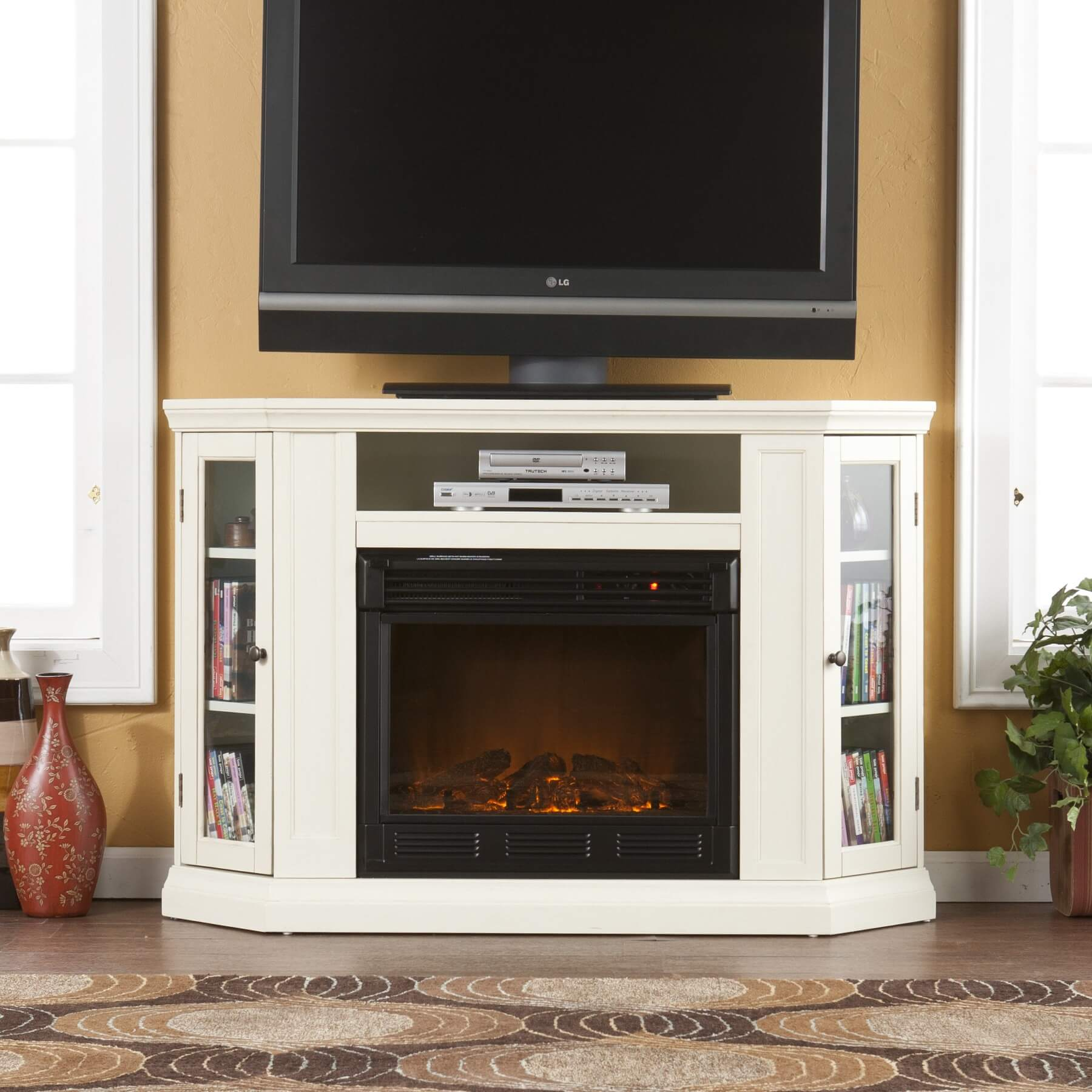 Lareiras el tricas design tipos e funcionalidades - Choosing the right white electric fireplace for you ...