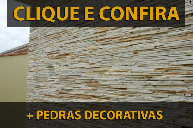 + Pedras decorativas