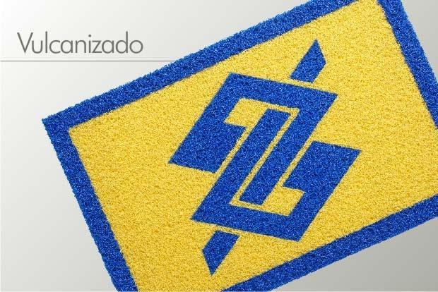 Tapete personalizado Banco do Brasil