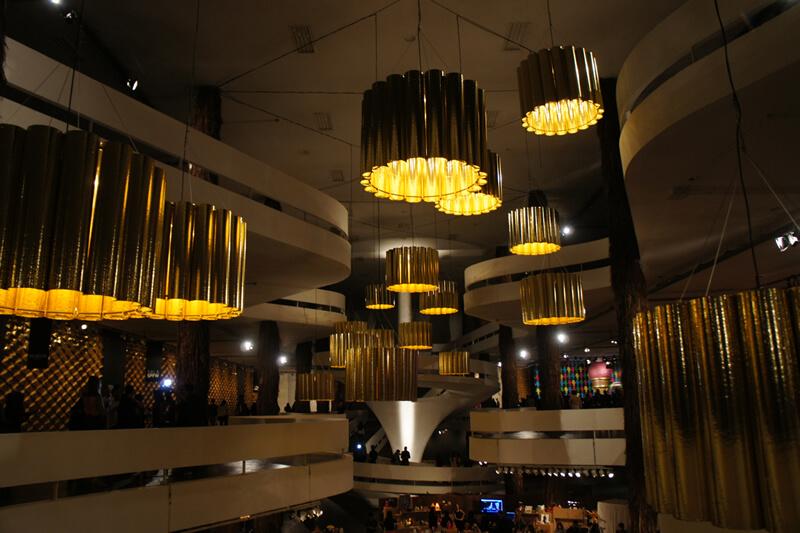 luminárias feitas com certificação de sustentabilidade
