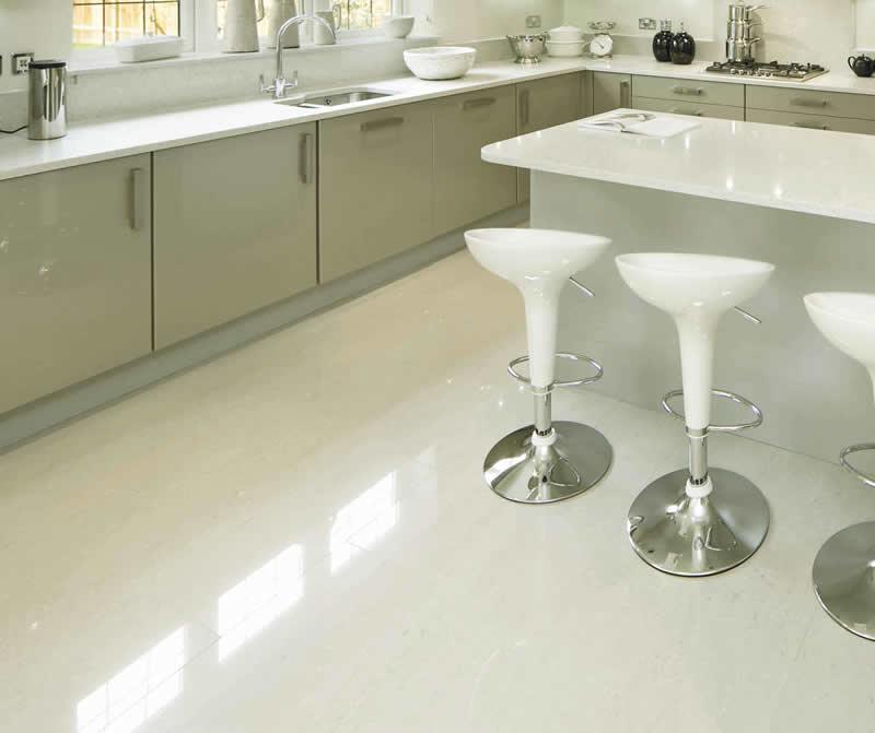 2 - Porcelanato Retificado: Muito mais claridade e limpeza em sua cozinha