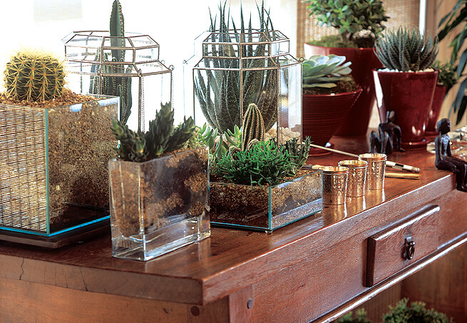Vasos e recipientes