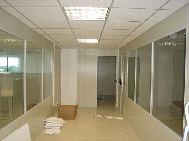 Divisória de PVC panorâmica da Divinorte-RS