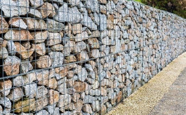 Como fazer muro Gabião