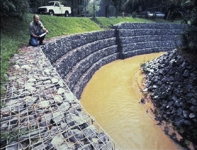 Como fazer um Muro de Gabião