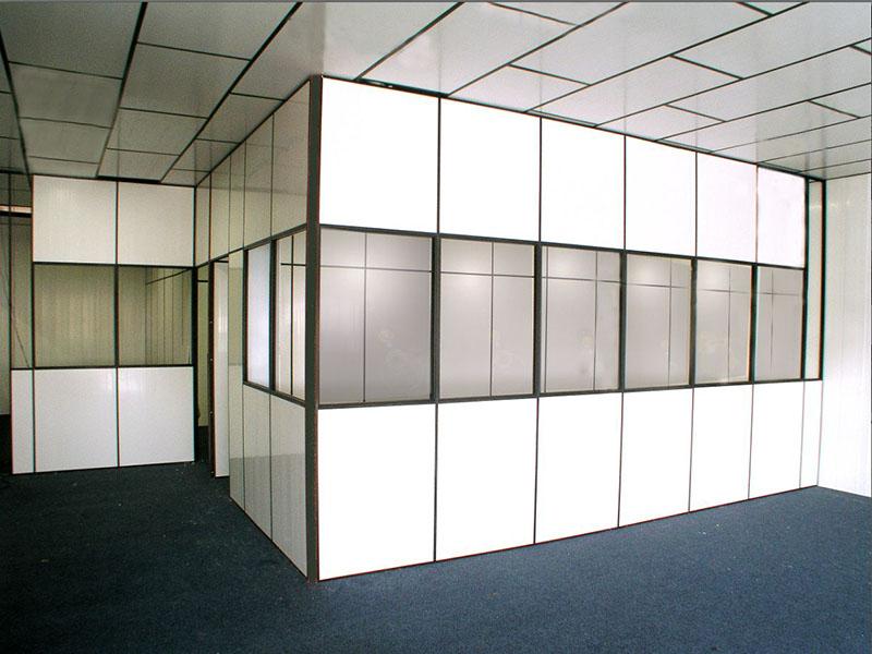 Divisórias de PVC para escritório