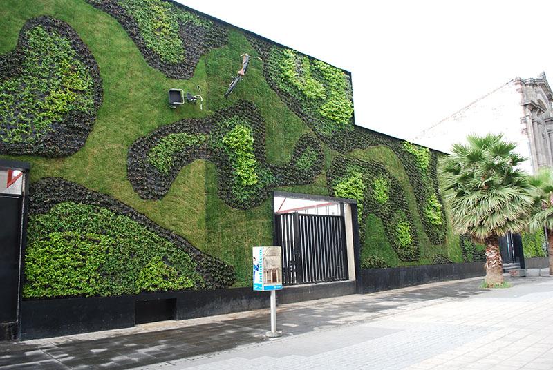 Green Wall modulado, já amplamente utilizado na Europa