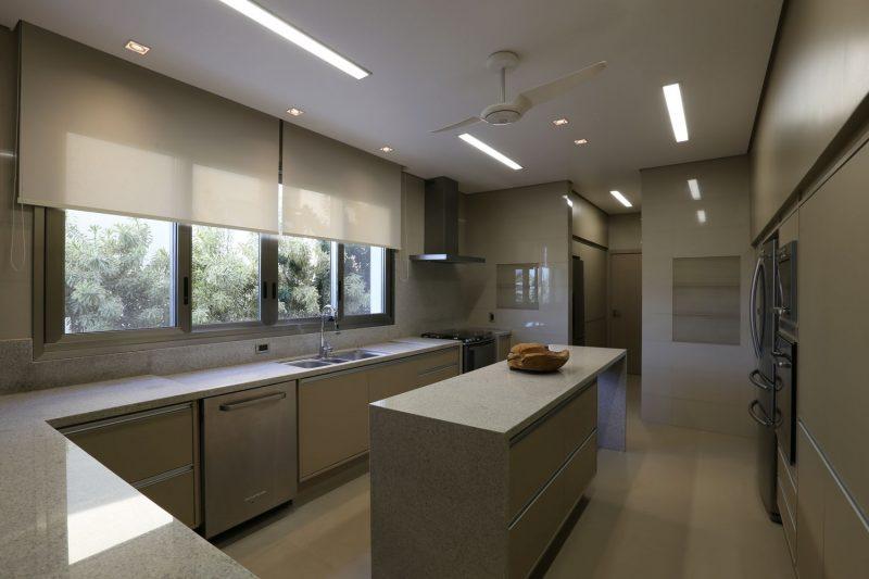 Janela de cozinha de alumínio