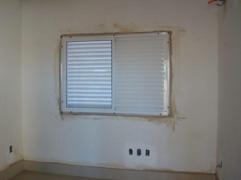 janela de alumínio sem acabamento