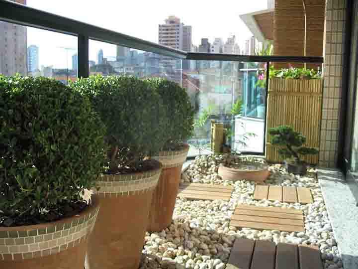 Jardim de Invernos na sacada - uma saída para quem mora em apartamentos