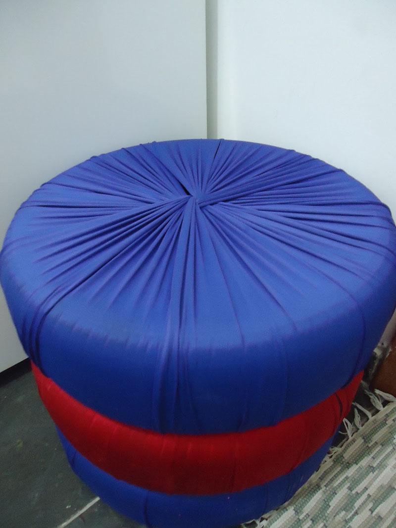 revestimento simples de tecido para puff modular de pneus