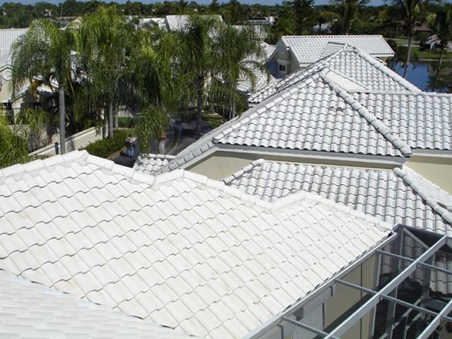 Modelos de Telhado branco