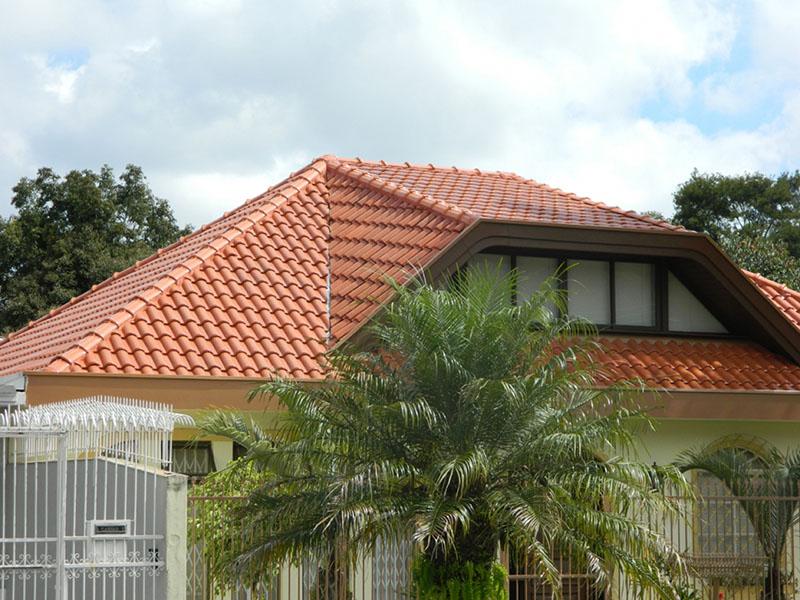 telhado do tipo mansarda