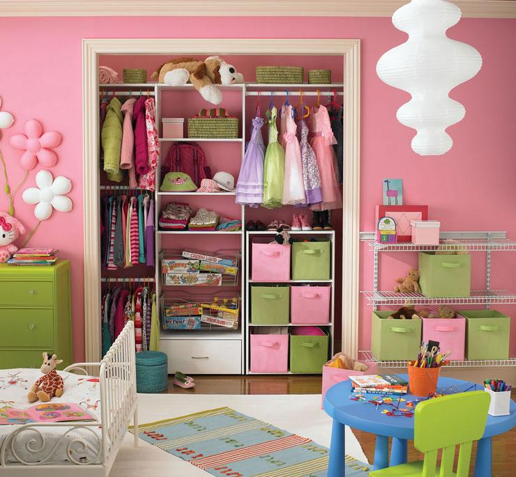 Closet para infantil pequeno