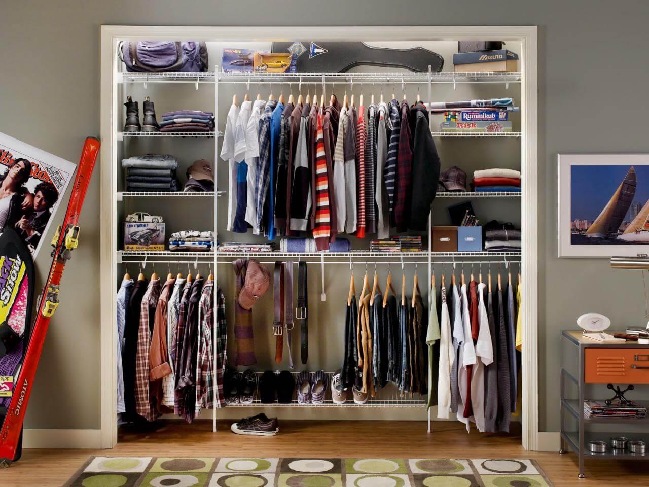 Walk In Closet For Teen Boys