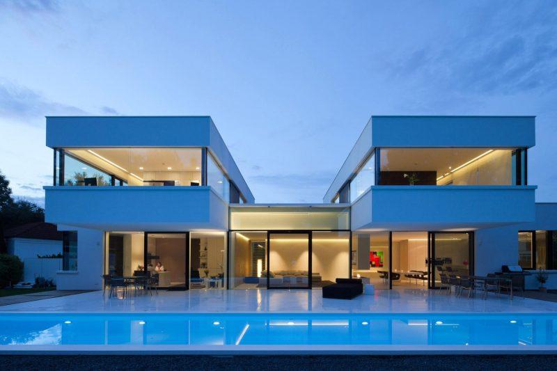 32 ideias de casas modernas fachadas projetos e fotos for Www home piani foto