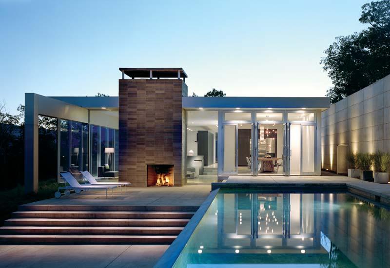 fachada moderna de casa brasileira