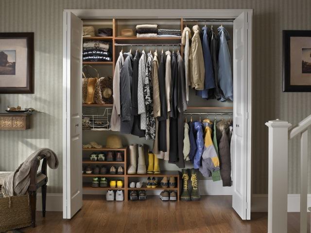 Coat closet, modelo para guardar casacos e calçados